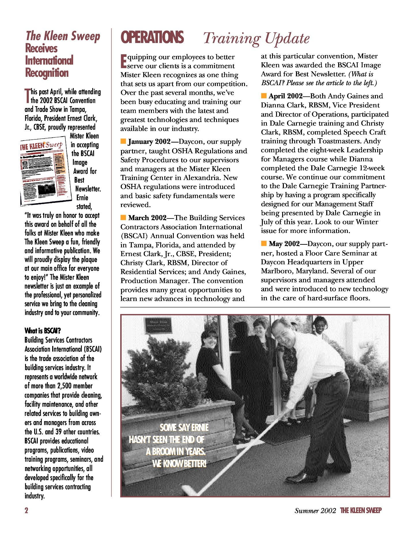 Kleen Sweep Flashback 2002